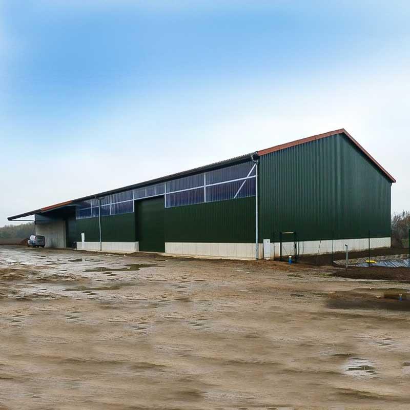 Kartoffellagerhalle bauen