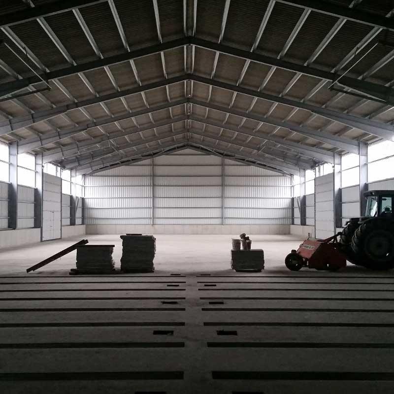 Lagerhalle bauen